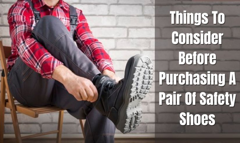 purchasing safety shoes