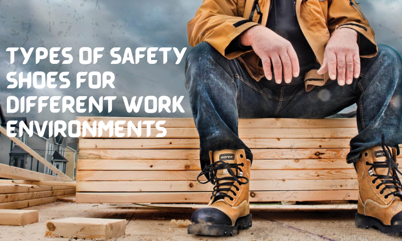 different types of safety shoes